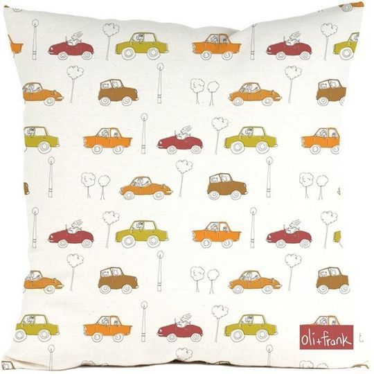 Traffic cushion cover