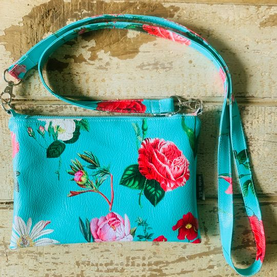 Cross Body Bag - Somerset Blue