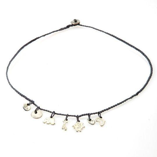 FANCY Braided Necklace & Choker Africa - Black