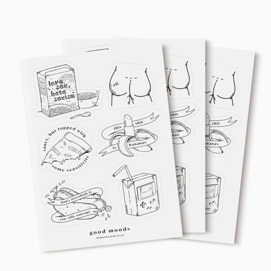 good stickers // pack of 3