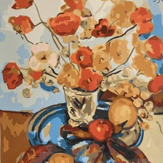 Irma Stern: Still Life with Poppies and Fruit