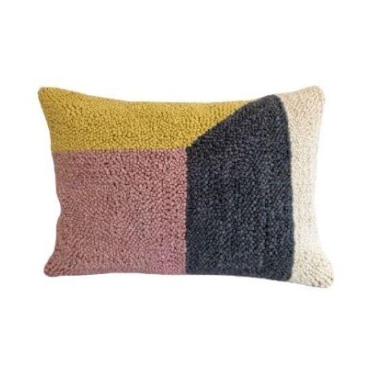 Hand Craft Colour Block Cushion