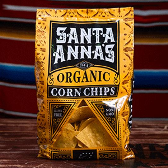 Santa Anna's Organic Corn Chips (250g)