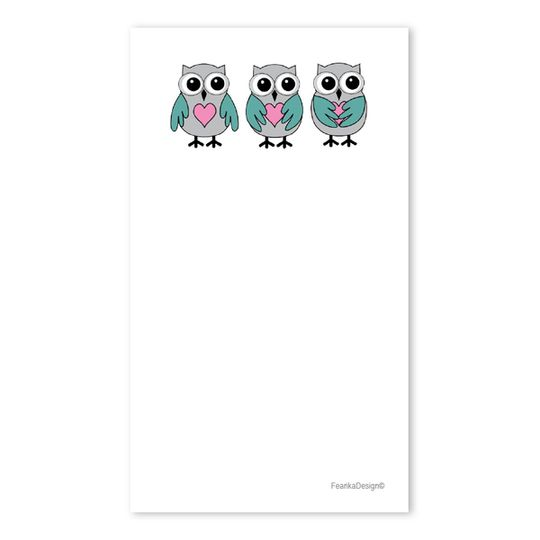 10 Little Letters - Owls & Hearts