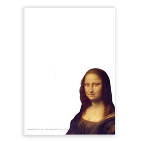 A6 Notebook - Mona Lisa