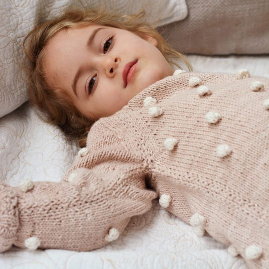 Bobble Jumper – Eco-Cotton  - Kids