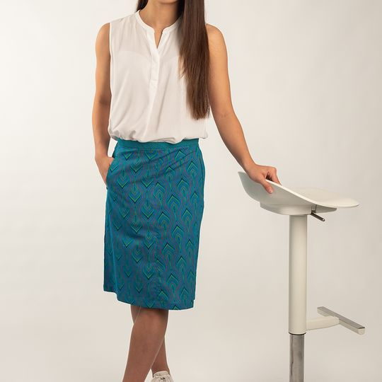 Skirt Classic Blue