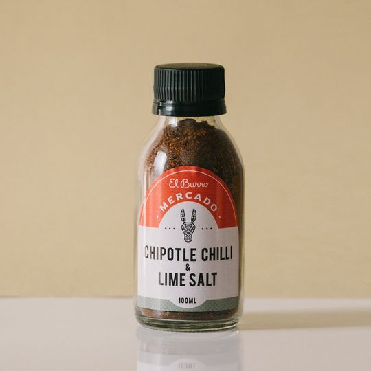 El Burro Chipotle & Lime Salt 100g