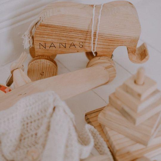 Wooden toy - Elephant