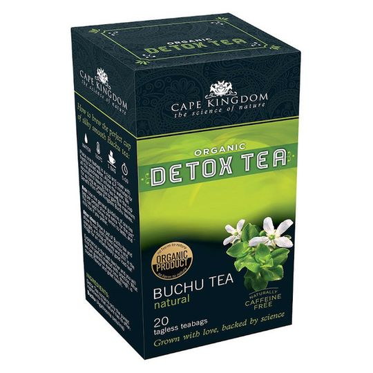 CKN Detox Tea Buchu Natural (20 teabags)