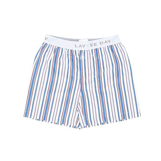 Boys Short Pants (Boxer Shorts) Blue Stripe