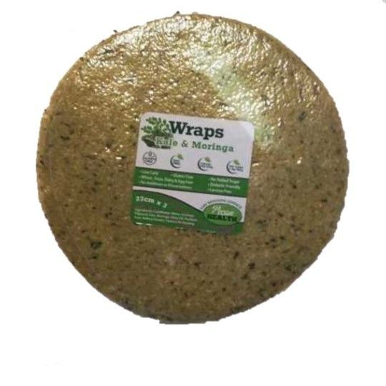 Kale And Morninga Wraps (23cm)