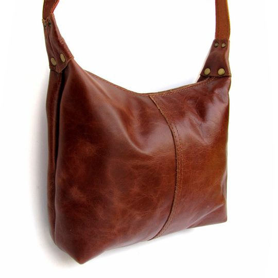 Handbag Medium - Red-Brown