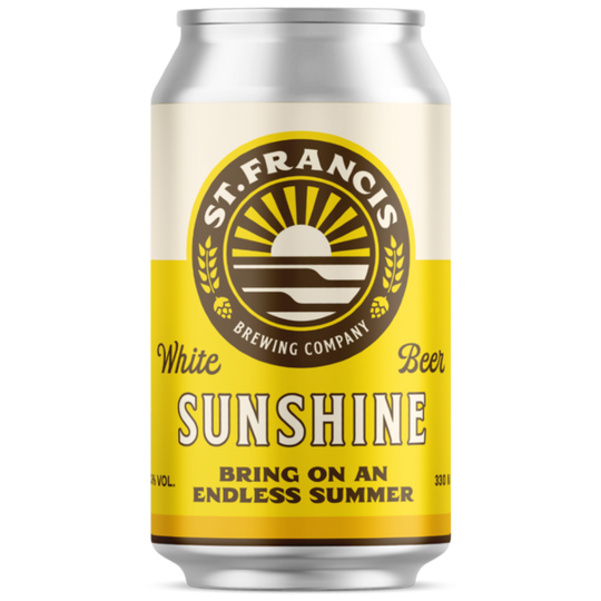 ST. Francis Sunshine 330ml can