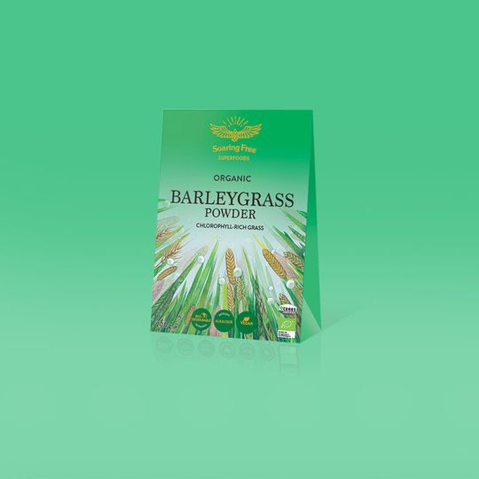 SOARING FREE SUPERFOODS Organic Barleygrass Powder - 200g