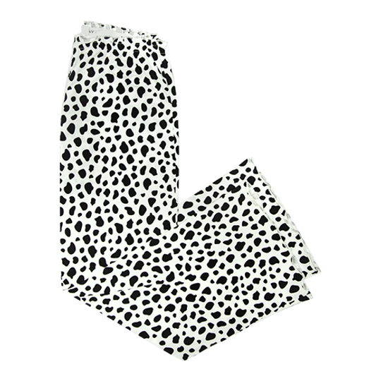 Long Pants - Elastic Tie Cow (Cotton Knit)