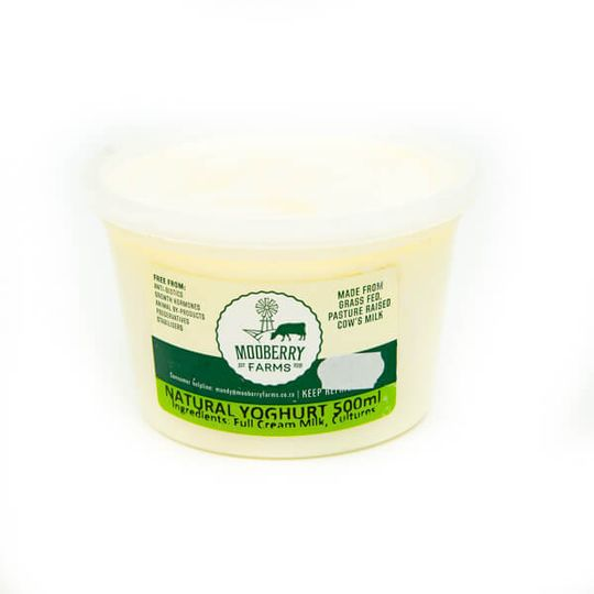 Natural Yoghurt (500ml)