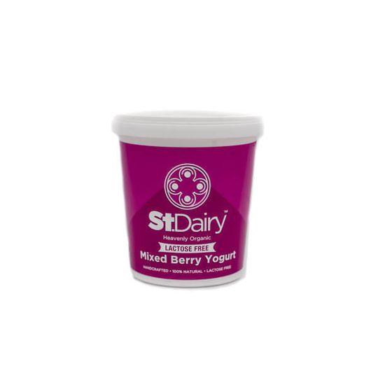 St. Dairy (Vanila or Mixed Berry) Yoghurt 1kg