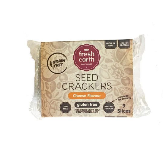 Fresh Earth Seed Cracker Cheese