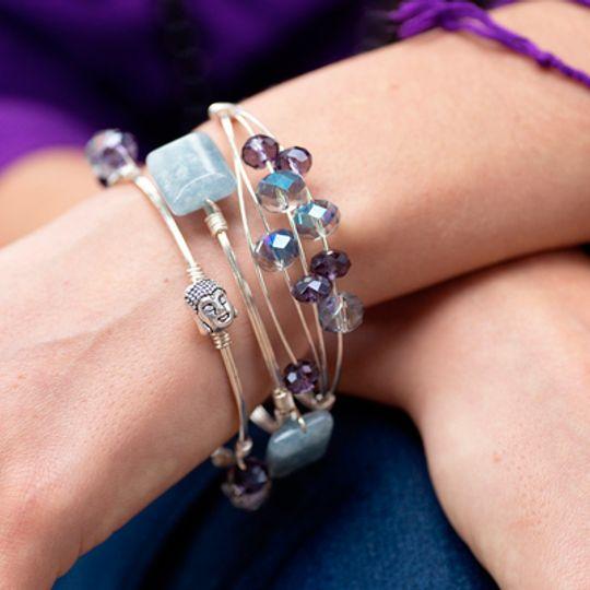 Various Gemstone Bangles