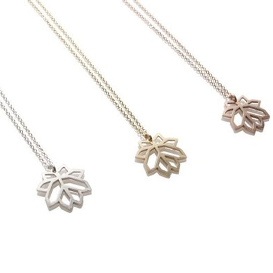 Lotus Crystal Cluster Pendant