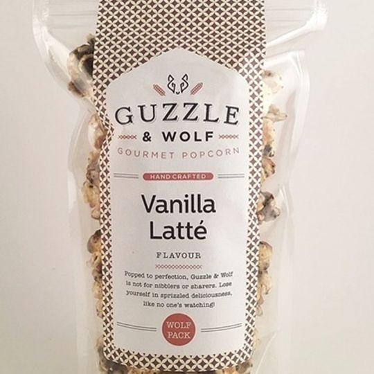 Guzzle & Wolf Vanilla Latte Popcorn