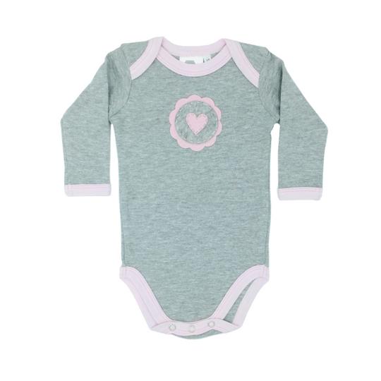 Heart on Grey Baby Grower