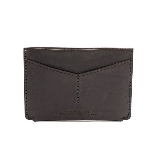 The Passport Holder - Black