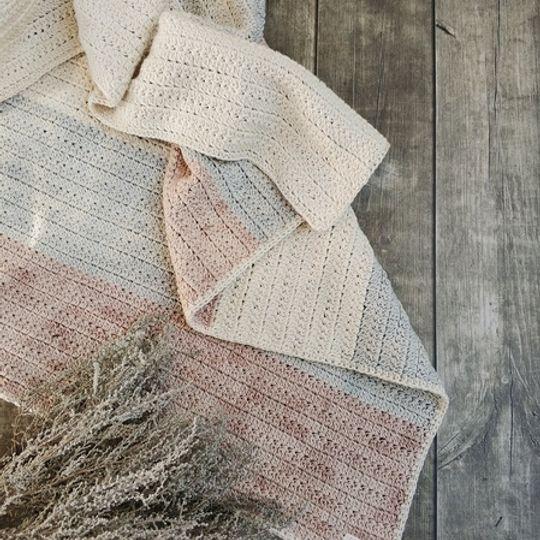 The Colour Block Blanket (Neutral)