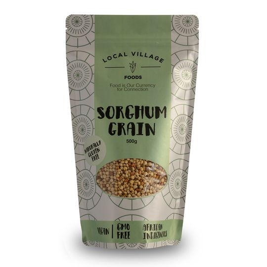 Local Village Foods Sorghum Grain 500g  (White or red)