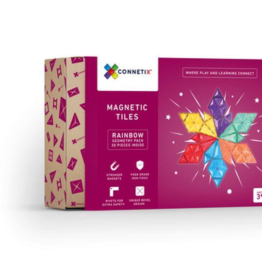 Connetix Tiles 30 pc Geometry pack