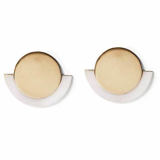 Gold & Silver Round Deco