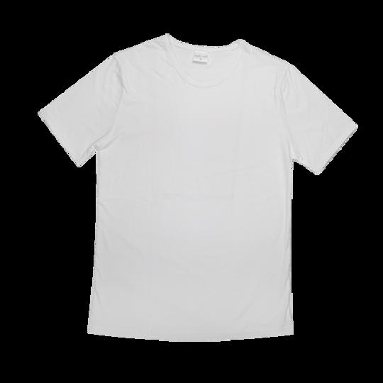 Mens Short Sleeve White