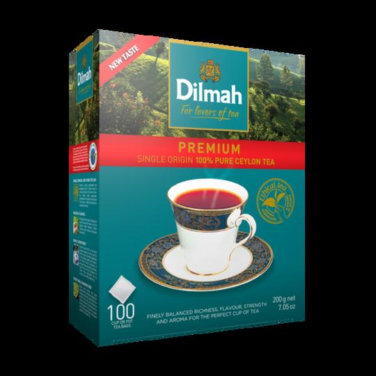 Dilmah Premium Ceylon (100 x 2g taggless tea bags)