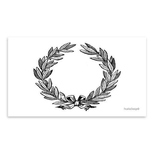 10 Little Letters - Classic Wreath