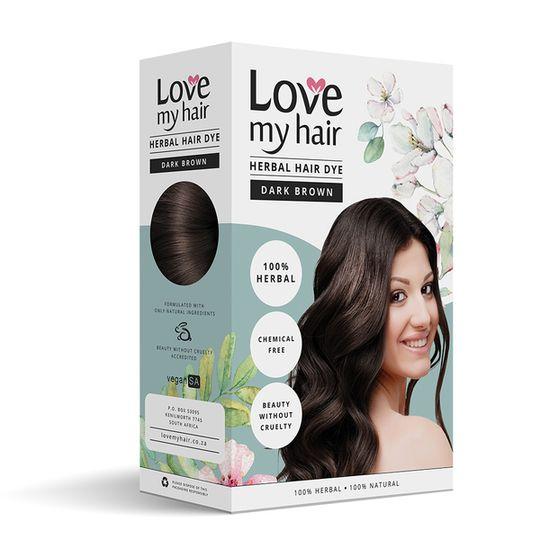 Love My Hair Dark Brown Herbal Dye