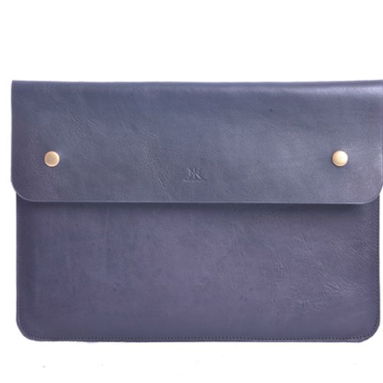 "Leather Laptop Sleeve 15"""