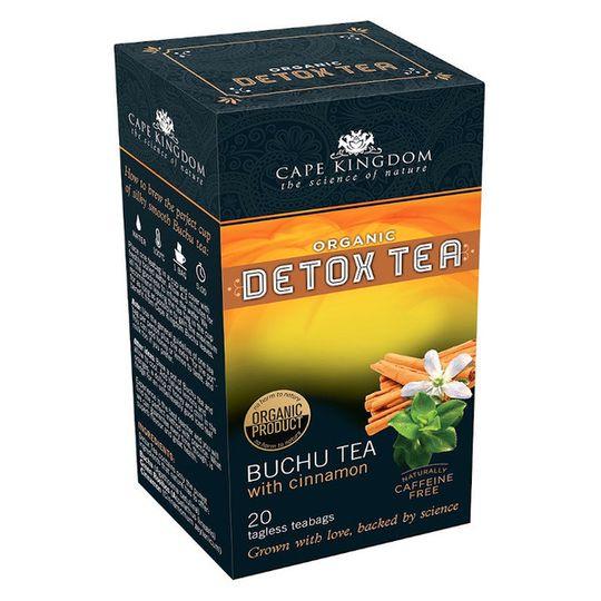 CKN Detox Tea Buchu & Cinnamon (20 teabags)