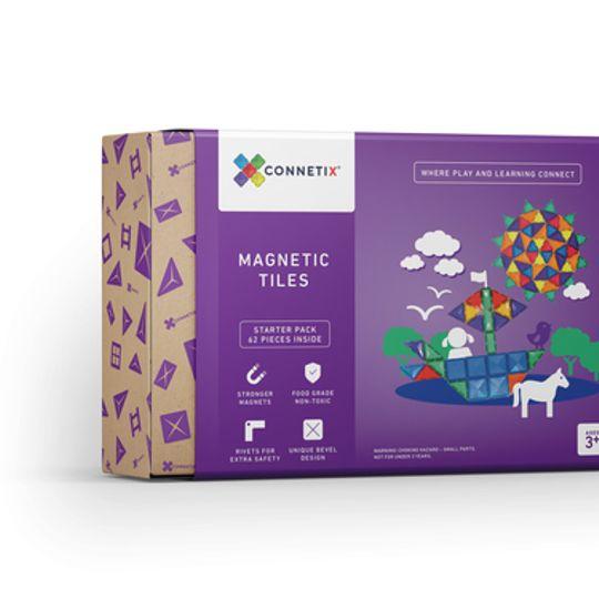 Connetix Tiles 62 pieces