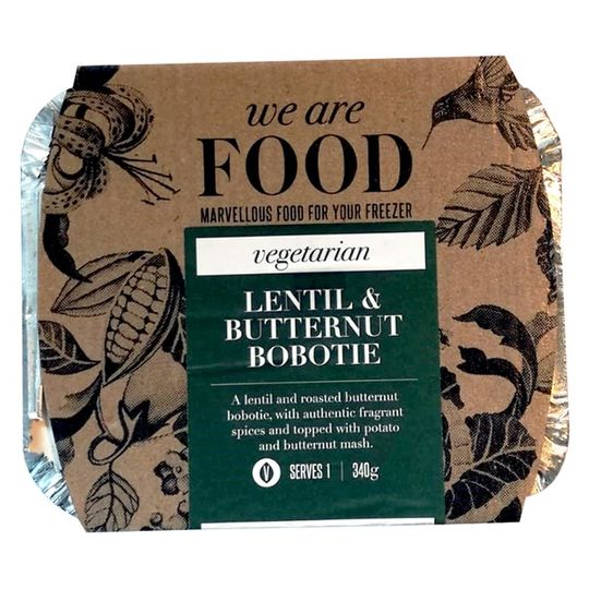 WE ARE FOOD Lentil And Butternut Bobotie (340g)