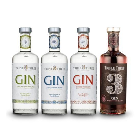 Triple 3 Gin Quartet Case 4
