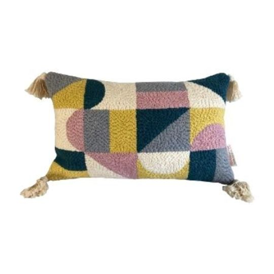 Hand Craft Geometric Cushion