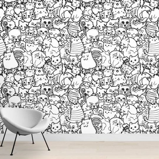 Wacky Wallpaper - Cool Cats