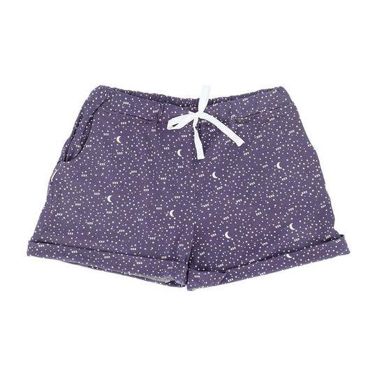 Short Pants - Turn-up Moon & Stars