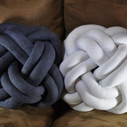 Square Knotted Cushion