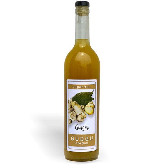 GUDGU SugarFREE Ginger Cordial 750ml