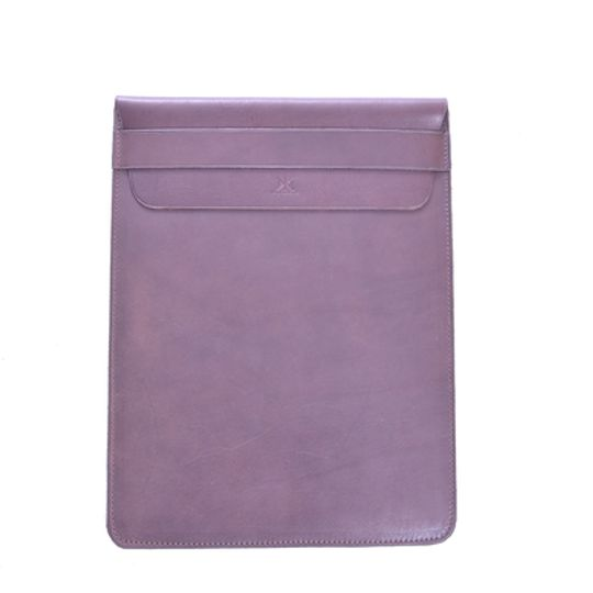 Leather iPad sleeve 11""