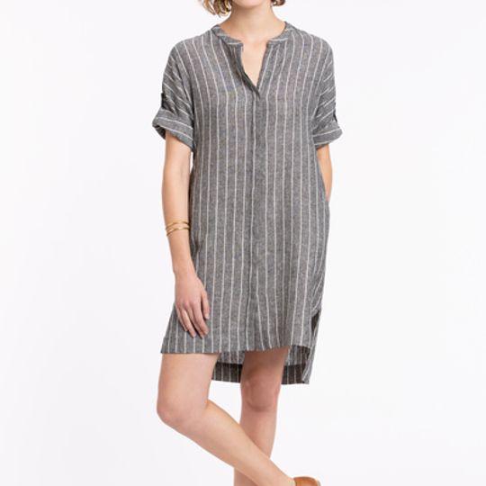 Athena | Button-up Collar Dress