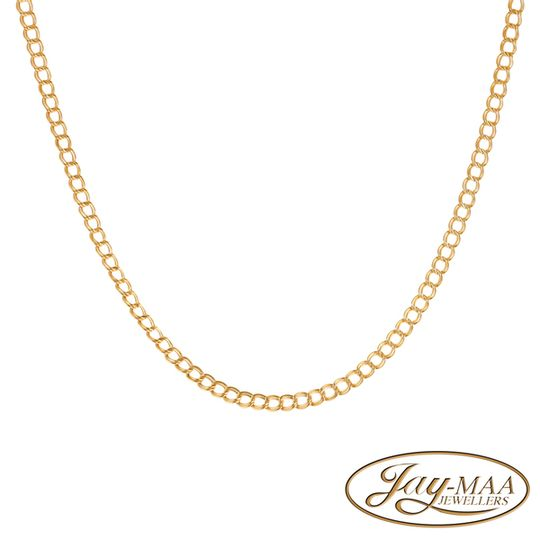 9ct Yellow Gold Mum & Child Styled Italian Necklace
