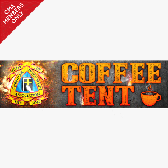 Coffee Tent Banner